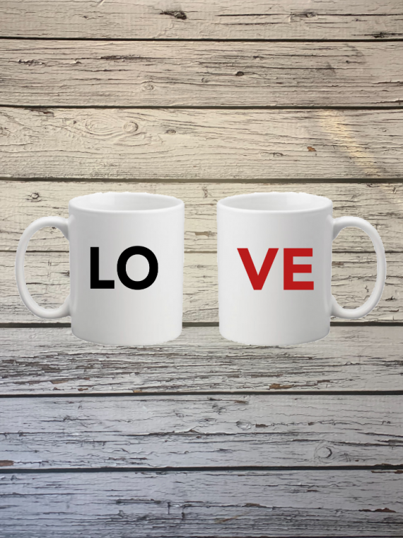 Mug couple love