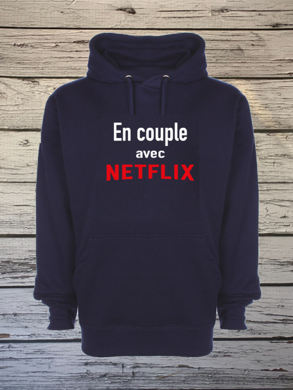 sweat en couple avec Netflix